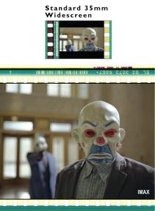 Diferencia entre película de 35 mm y IMAX